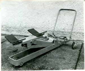 Steinbock Sonderhubwagen Rohre