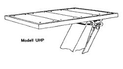 Tragbruecke Universalhubwagen Plattformauflage